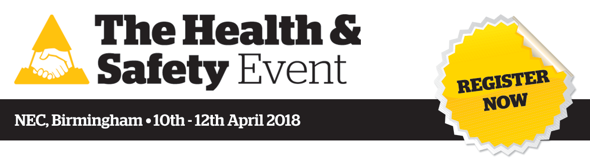 Change attitudes, be heard, save lives | The Health & Safety Event | 10th - 12th April 2018 | NEC, Birmingham,